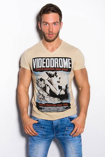 Roupa T-Shirt Videodrome