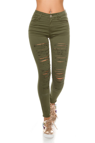 Roupa Jeans rasgados
