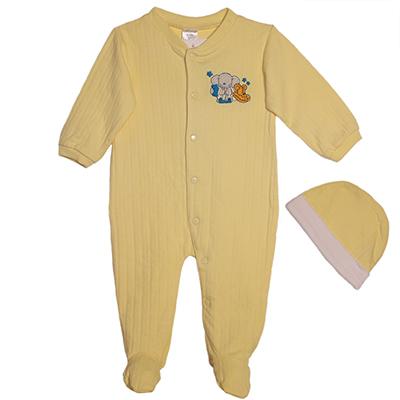 Roupa Pijama e Gorro